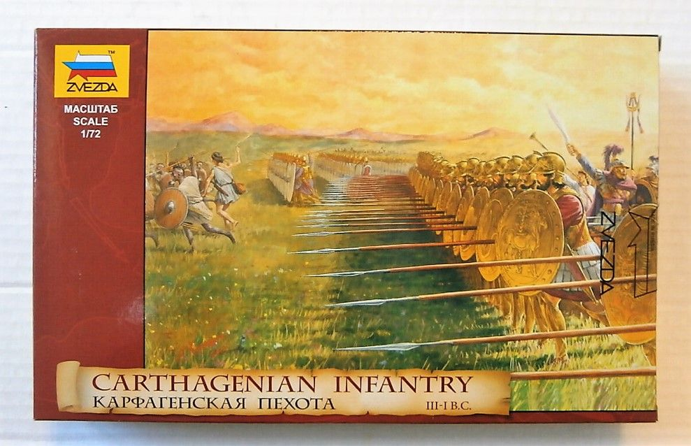 8010 CARTHAGENIAN INFANTRY