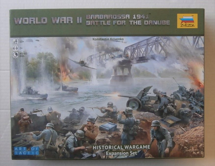 6177 WORLD WAR II BARBAROSSA 1941 BATTLE FOR THE DANUBE EXPANSION SET