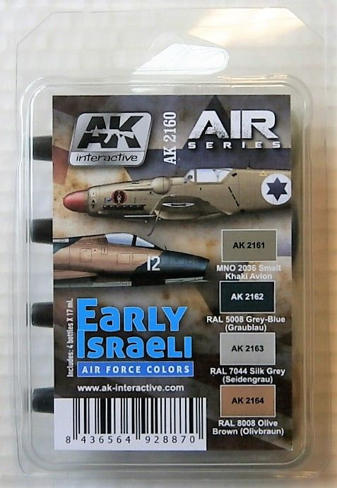 AK2160 EARLY ISRAELI AIR FORCE COLOURS