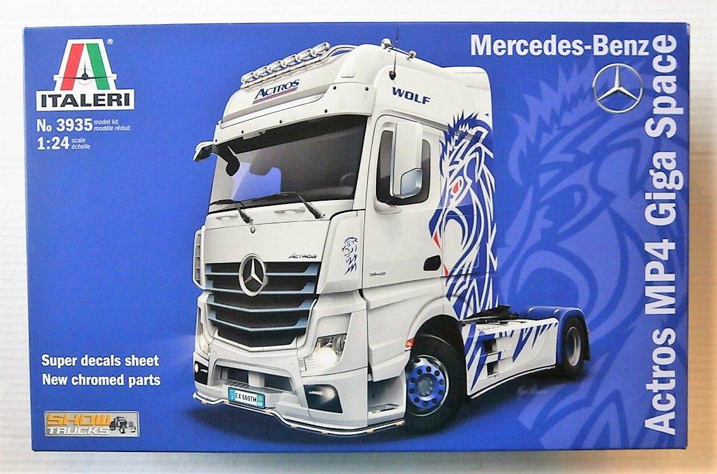 3935 MERCEDES-BENZ ACTROS MP4 GIGA SPACE