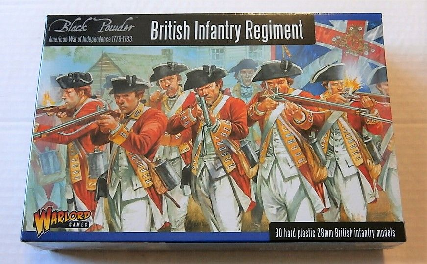 AW1 BRITISH INFANTRY REGIMENT AMERICAN WAR OF INDEPENDENCE 1776-1783