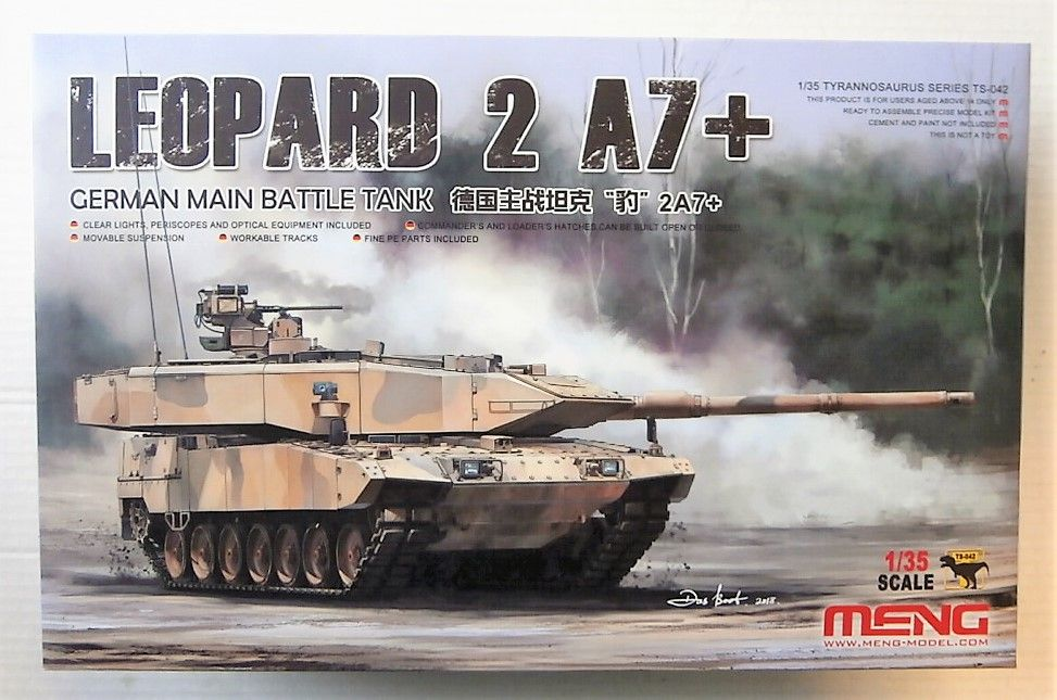 TS-042 GERMAN LEOPARD 2 A7