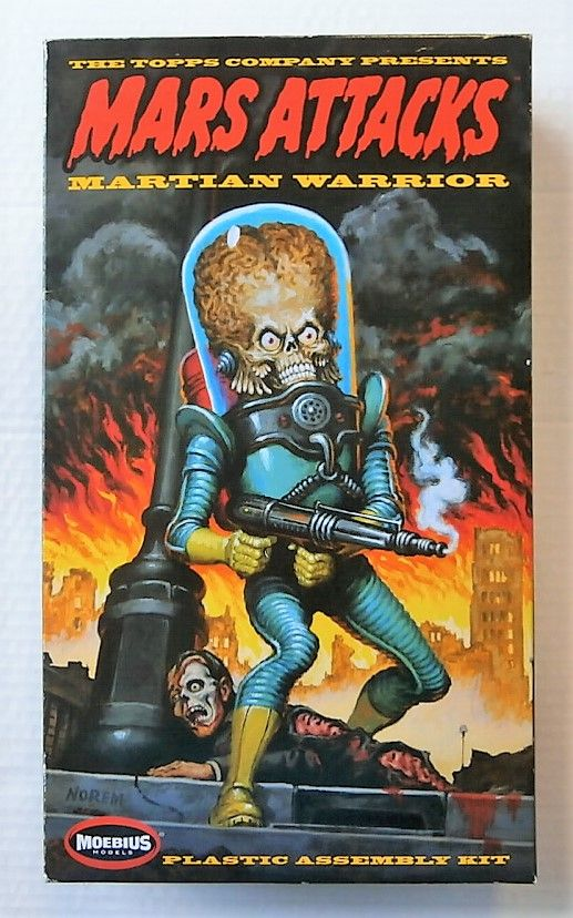 936 MARS ATTACKS MARTIAN WARRIOR