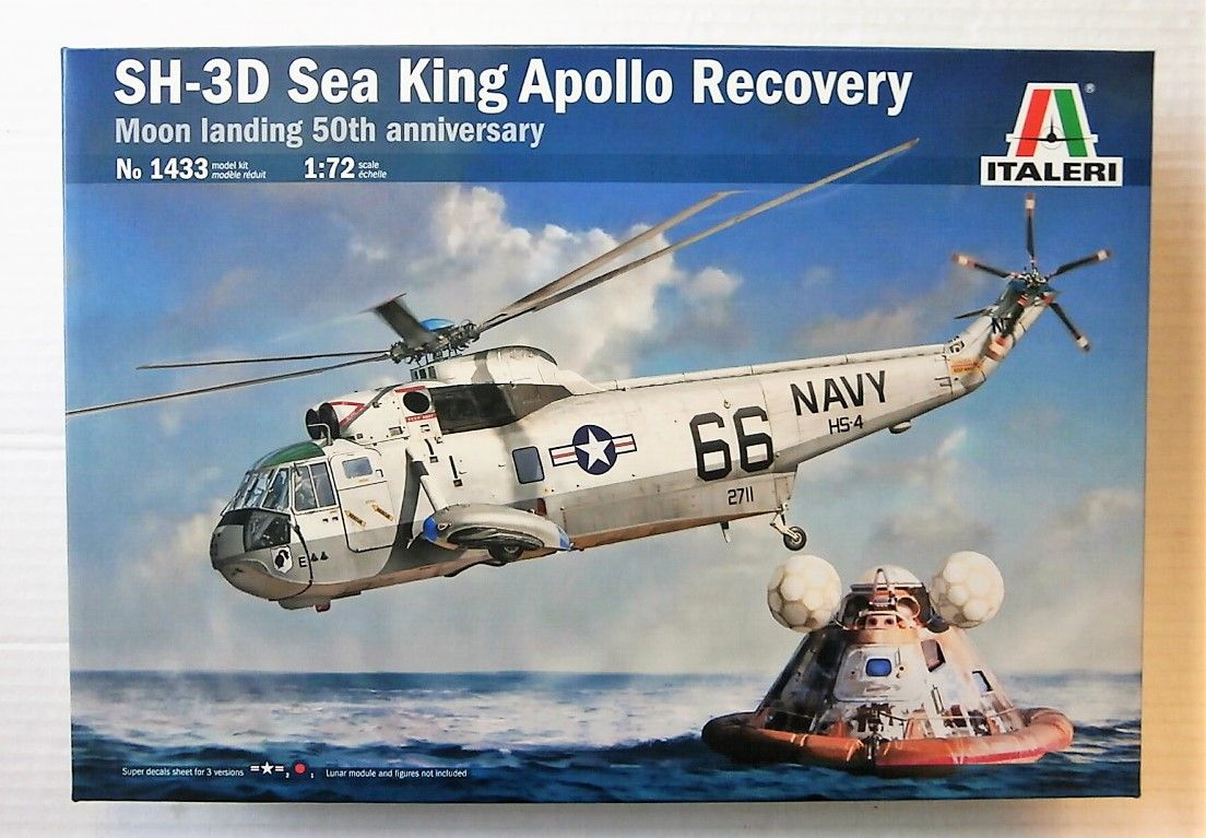 1433 SH-3D SEA KING APOLLO RECOVERY