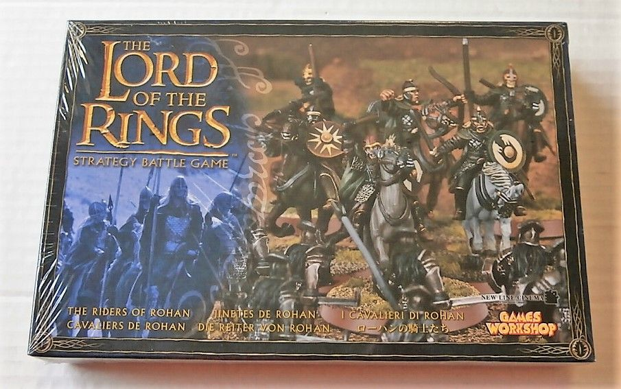 LORD OF THE RINGS THE RIDERS OF ROHAN