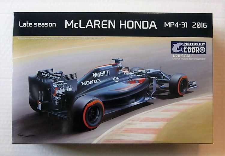 020 MCLAREN HONDA LATE SEASON MP4-31 2016