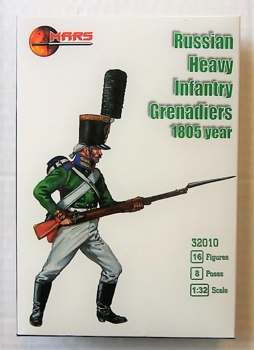 32010 RUSSIAN HEAVY INFANTRY GRENADIERS 1805