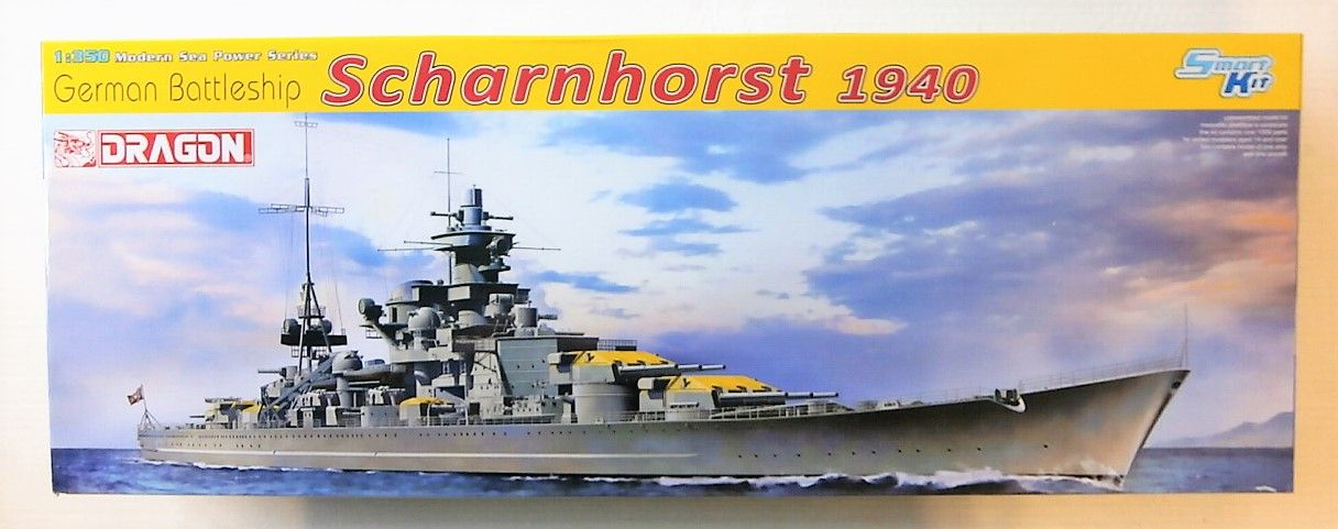 1062 GERMAN BATTLESHIP SCHARNHORST 1940  UK SALE ONLY