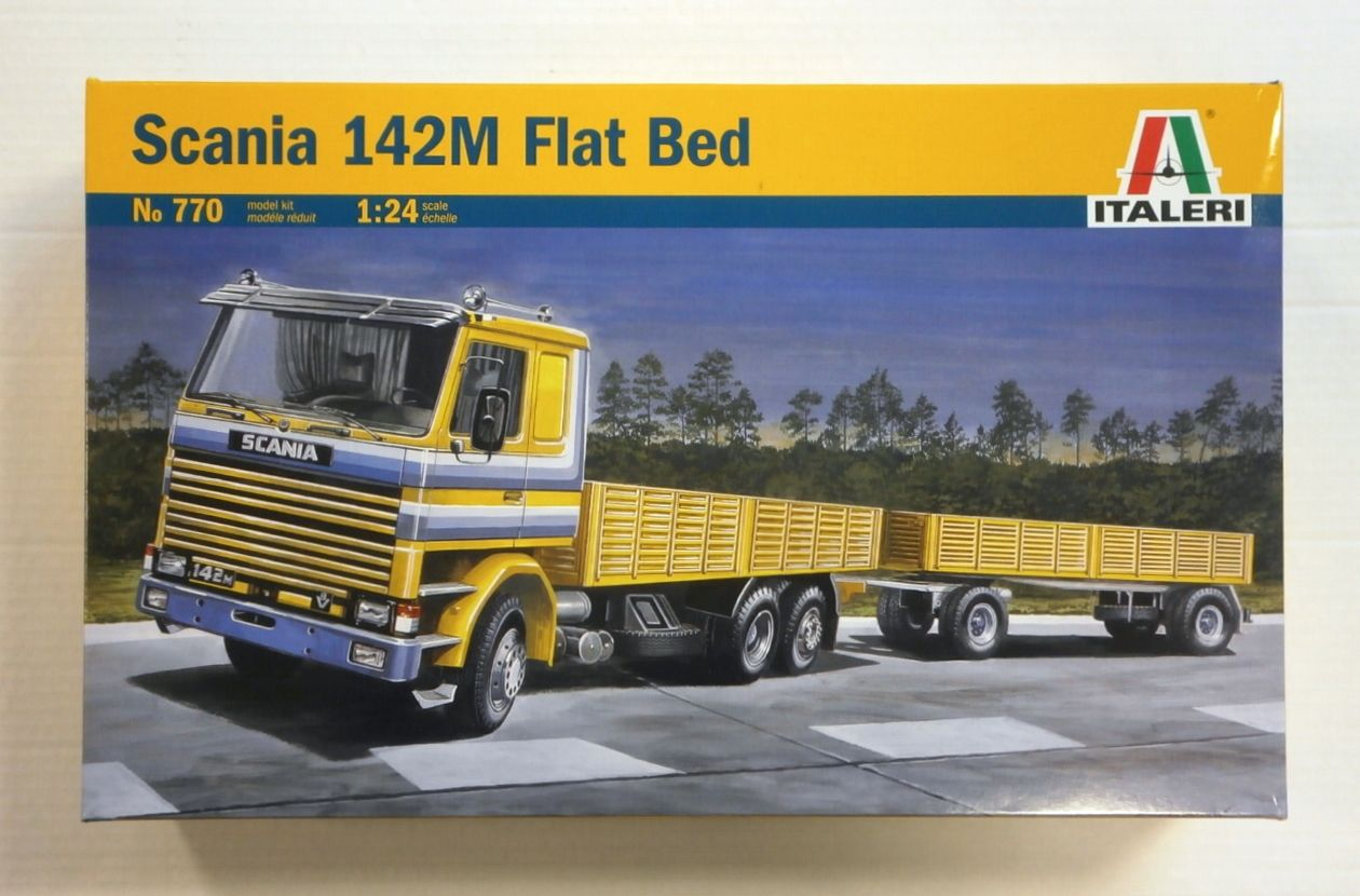 770 SCANIA 142M FLAT BED