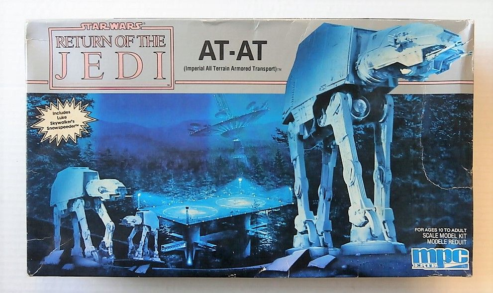 8919 STAR WARS RETURN OF THE JEDI AT-AT