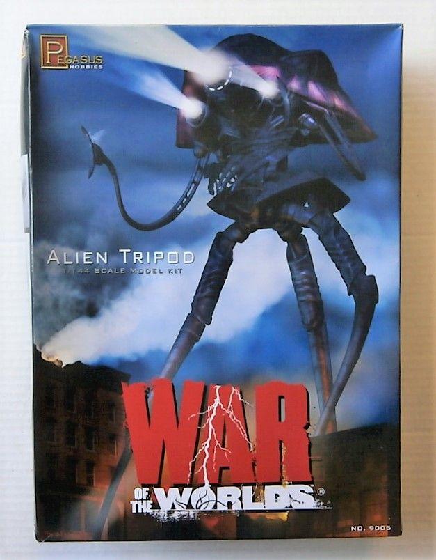 Alien Tripod War Of The Worlds Krieg der Welten 1:144 Model Kit Pegasus 9005