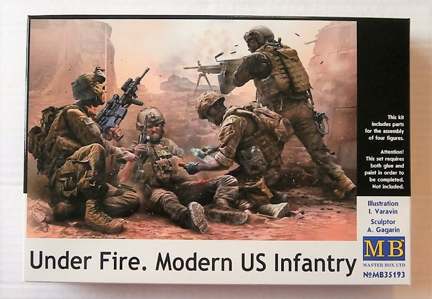 35193 UNDER FIRE MODERN US INFANTRY