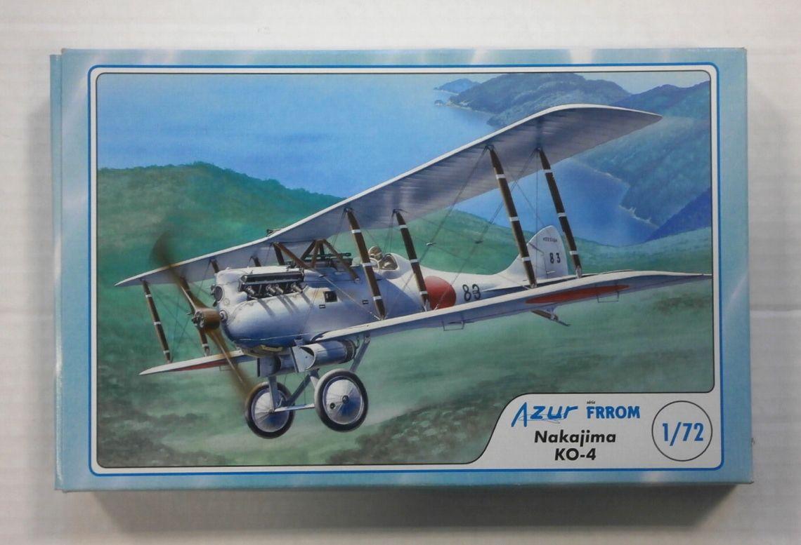 Frrom Azur 1//72 Nakajima Ko-4 # FR006