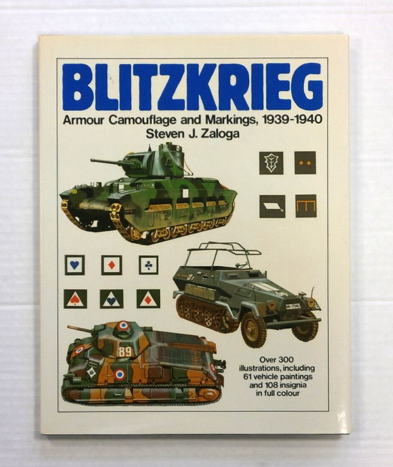ZB845 BLITZKRIEG ARMY CAMOUFLAGE AND MARKINGS 1939-1940