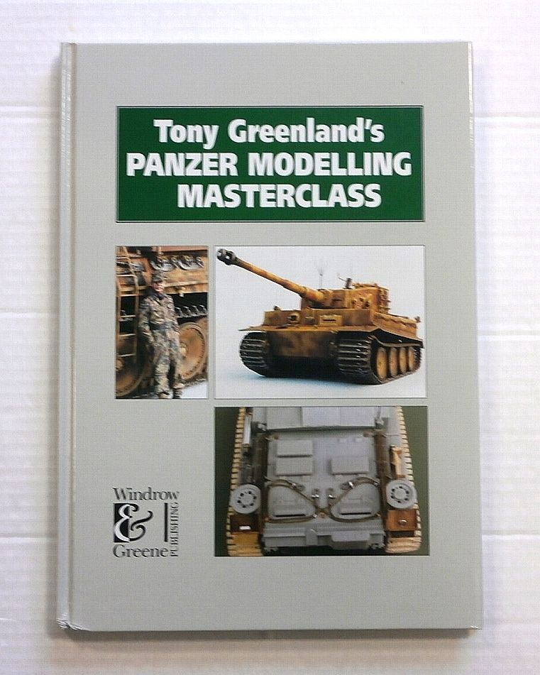 ZB851 TONY GREENLANDS PANZER MODELLING MASTERCLASS