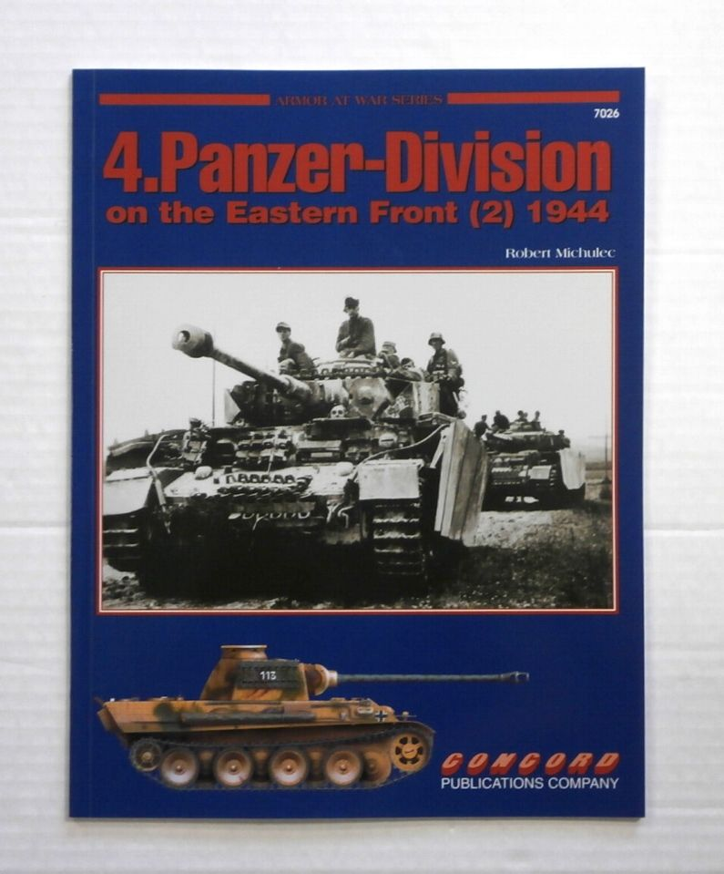 ZB863 ARMOR AT WAR SERIES 4.PANZER-DIVISION ON THE EASTERN FRONT  2  1944