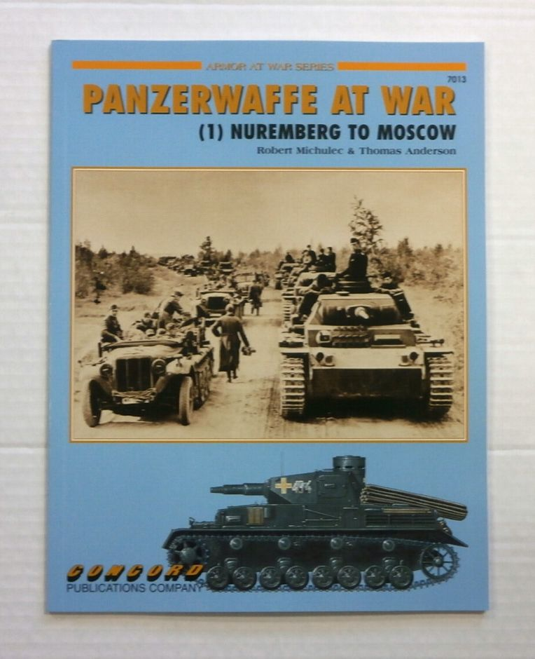 ZB864 ARMOR AT WAR SERIES PANZERWAFFE AT WAR  1  NUREMBERG TO MOSCOW