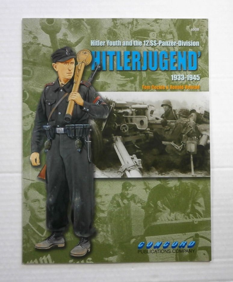 ZB866 HITLER YOUTH AND THE 12.SS-PANZER-DIVISION HITLERJUGEND 1933-1945