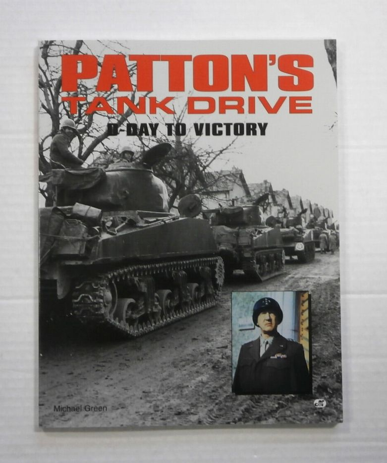 ZB868 PATTONS TANK DRIVE D-DAY TO VICTORY