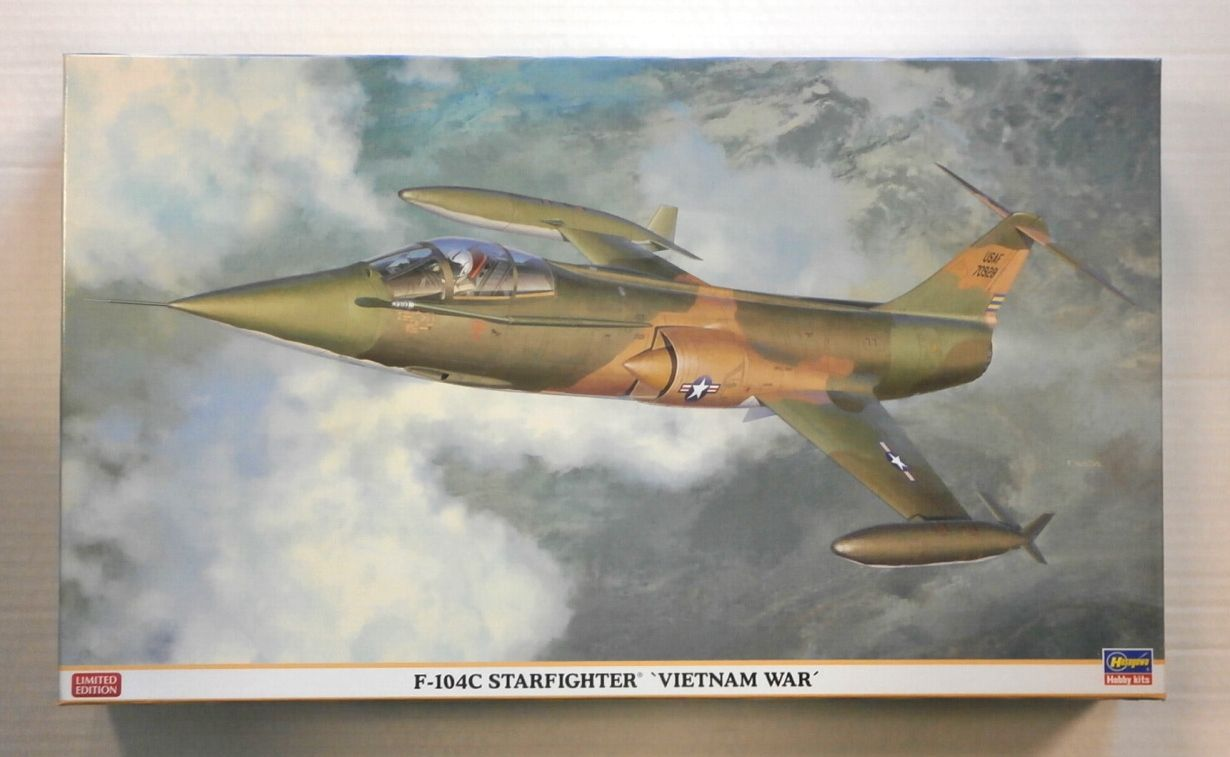 08234 F-104C STARFIGHTER VIETNAM WAR