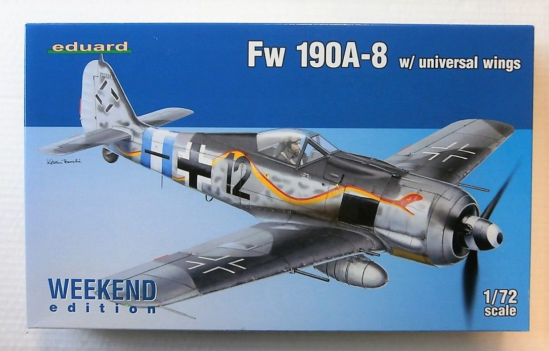 7443 Fw 190A-8 W/ UNIVERSAL WINGS