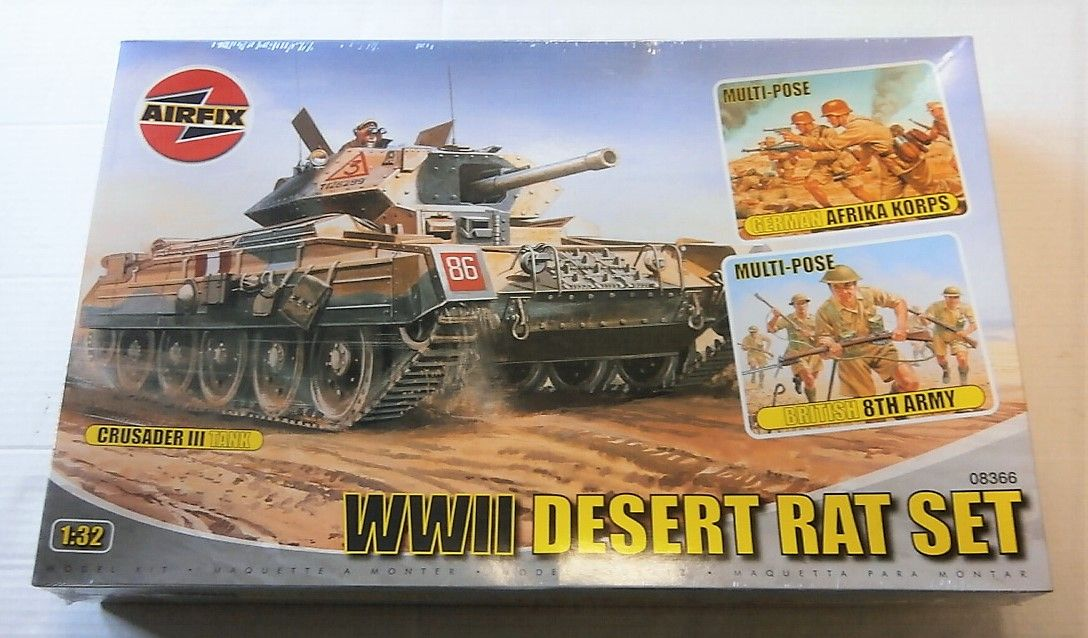 08366 DESERT RATS SET CRUSADER/8th ARMY AFK FIGURES