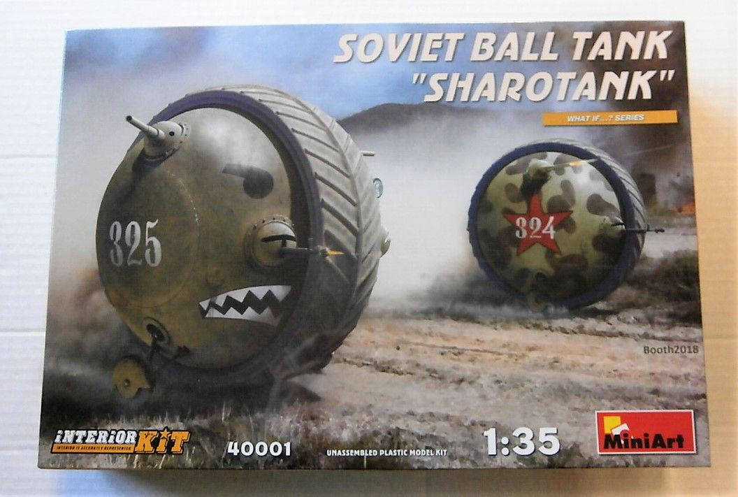 40001 SOVIET BALL TANK SHAROTANK