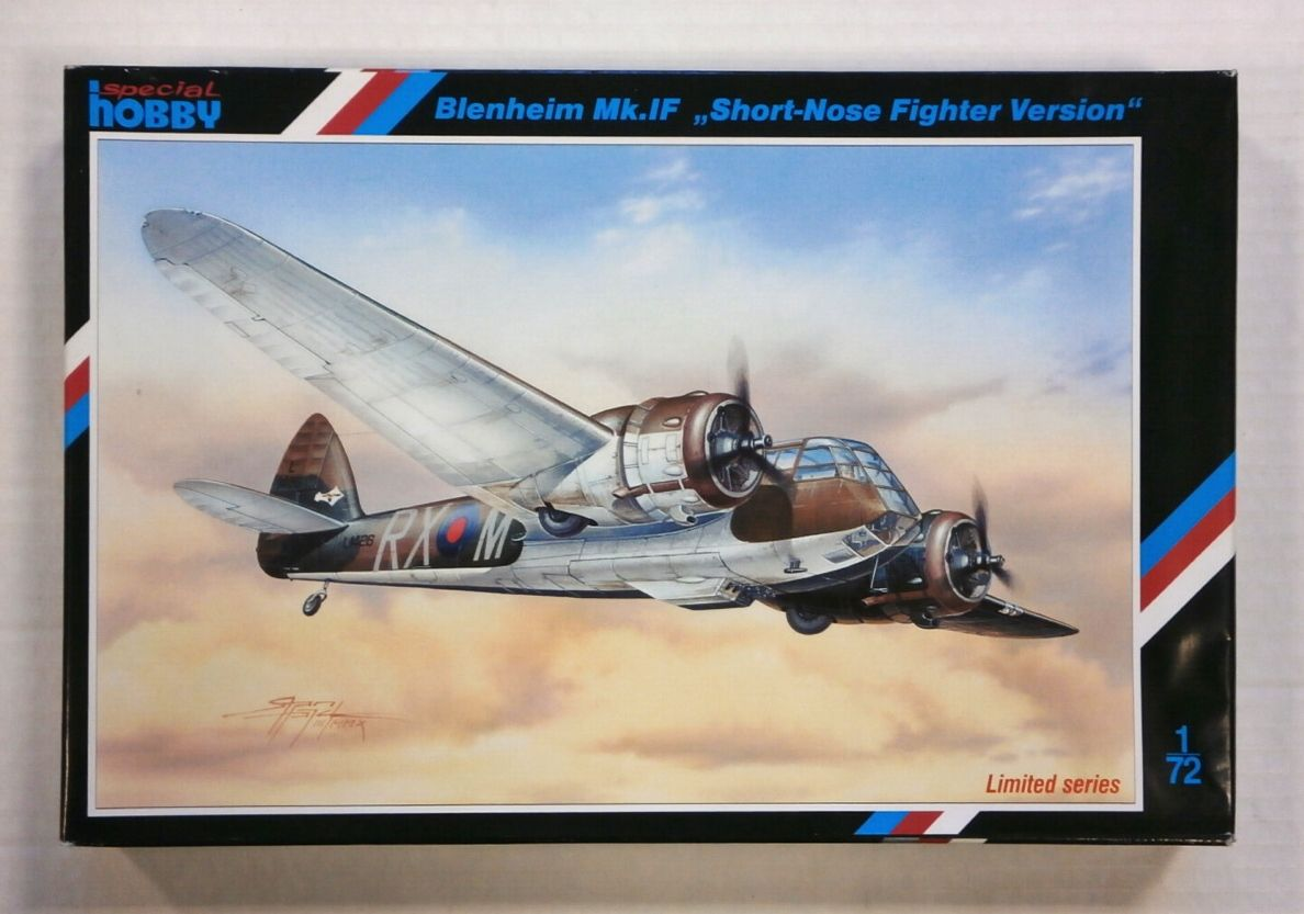 72205 BLENHEIM Mk.IF SHORT-NOSE FIGHTER VERSION