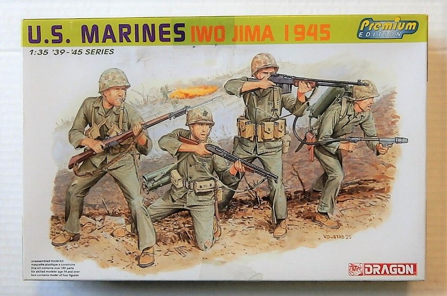 6408 US MARINES IWO JIMA