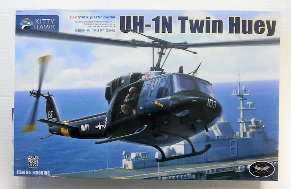 80158 BELL UH-1N TWIN HUEY