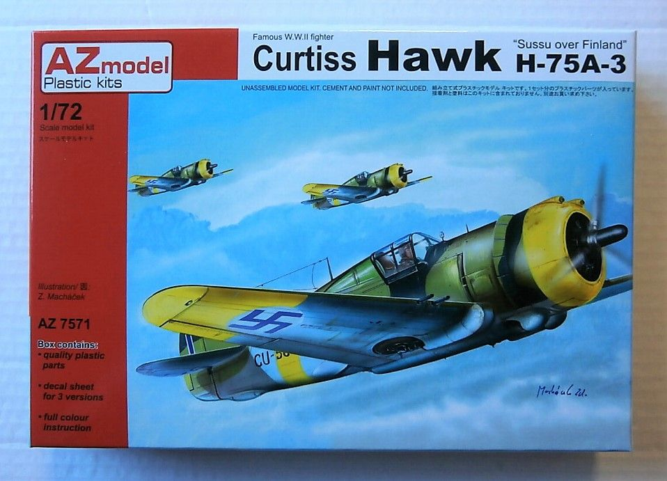 7571 CURTISS HAWK H-75A-3  SUSSU OVER FINLAND