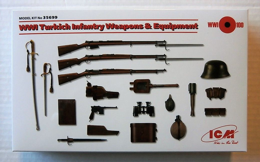 35699 WWI TURKISH INFANTRY WEAPONS AND EQUIPMENT
