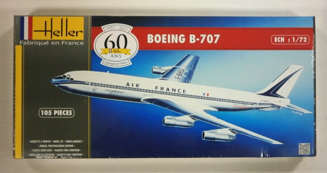 Heller 80452 Boeing B-707 (uk Sale Only) Model Aircraft Kit