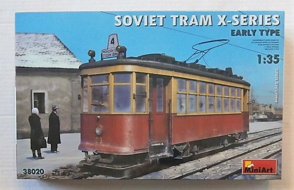 38020 SOVIET TRAM X-SERIES EARLY TYPE