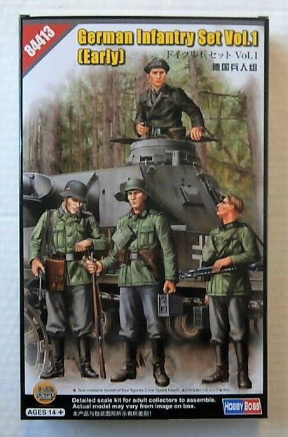 84413 GERMAN INFANTRY SET VOL 1  EARLY