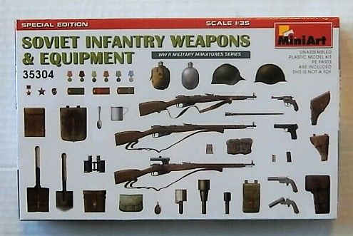 35304 SOVIET INFANTRY WEAPONS   EQUIPMENT
