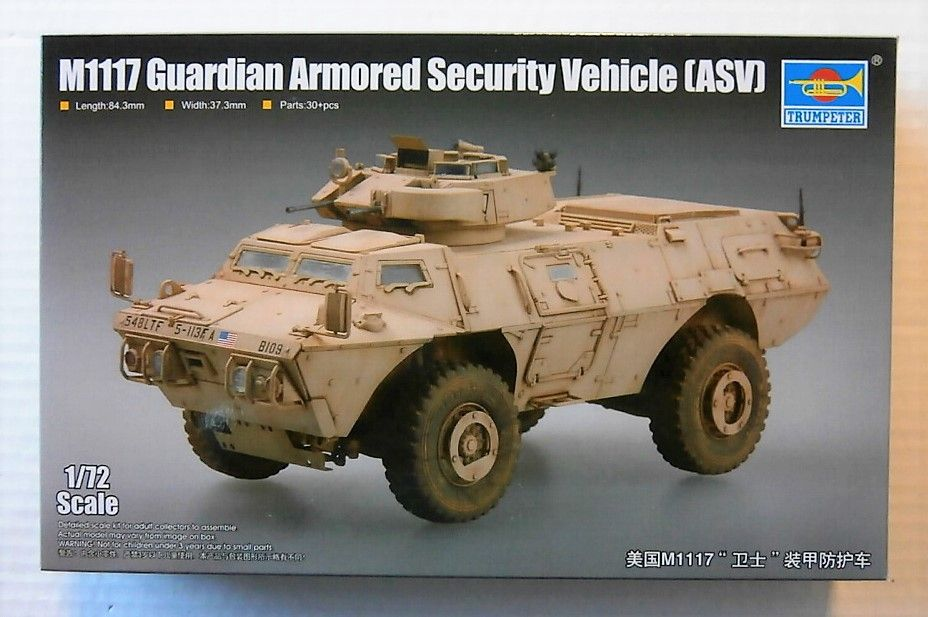 07131 M1117 GUARDIAN ARMOURED SECURITY VEHICLE  ASV