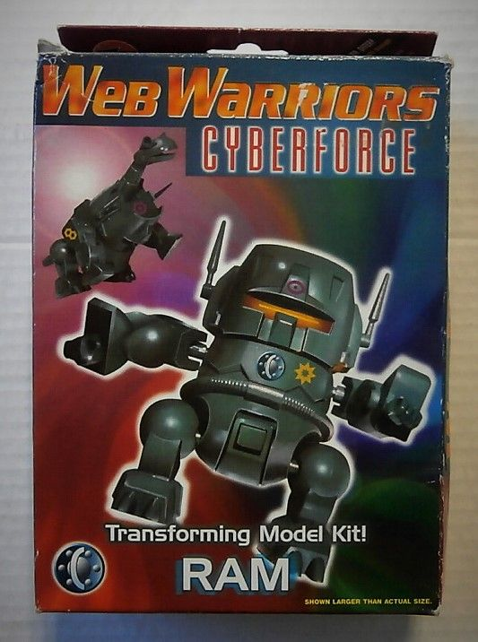 WEB WARRIORS CYBERFORCE RAM