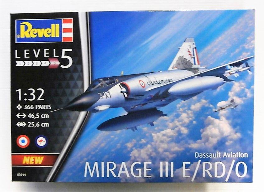 Revell 1//32 Dassault Mirage IIIE # 03919