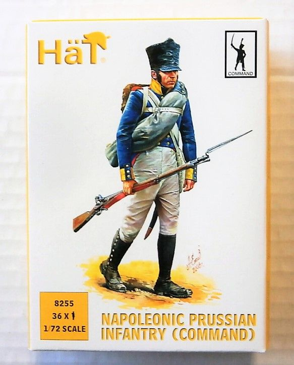 8255 NAPOLEONIC PRUSSIAN INFANTRY  COMMAND