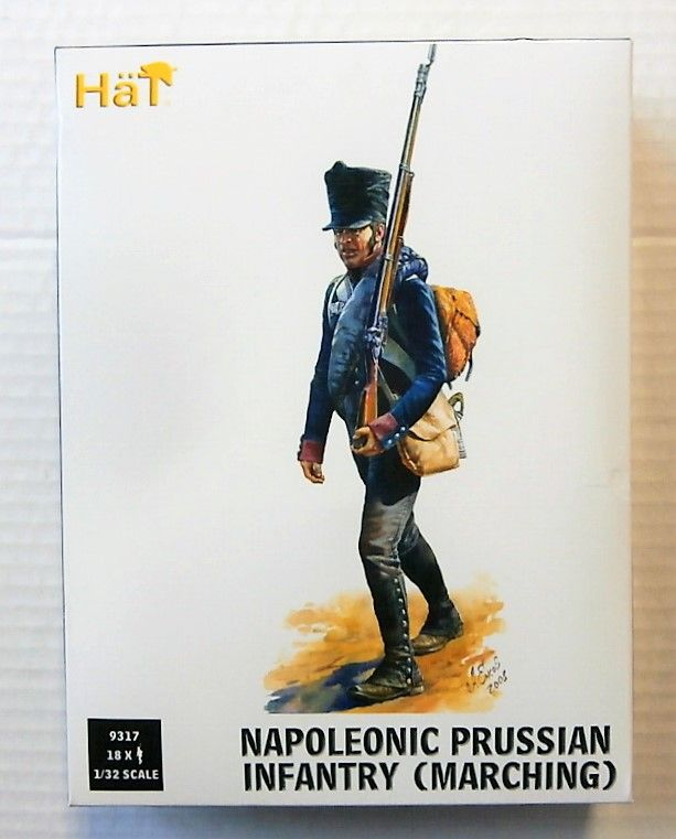 9317 NAPOLEONIC PRUSSIAN INFANTRY