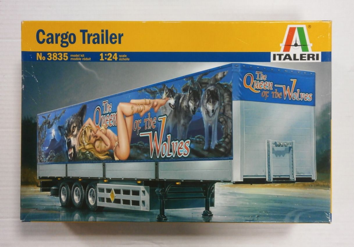 3835 CARGO TRAILER THE QUEEN OF THE WOLVES
