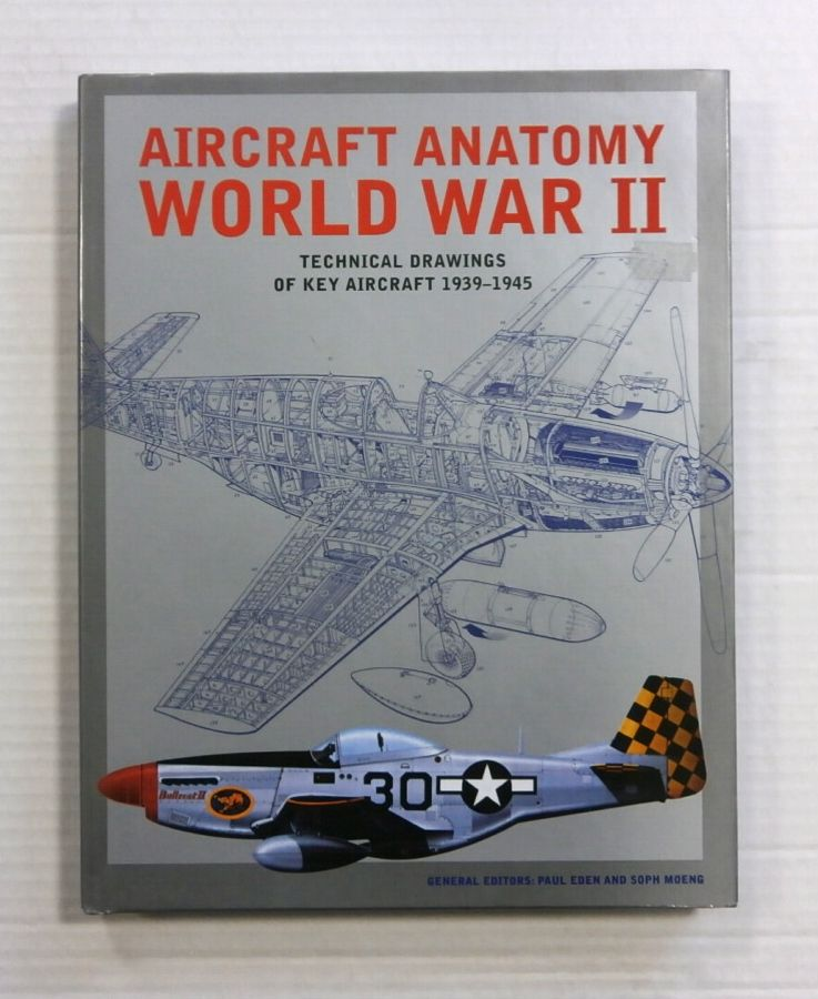 Cheap Books Zb1180 Aircraft Anatomy World War Ii Technical Drawings ...