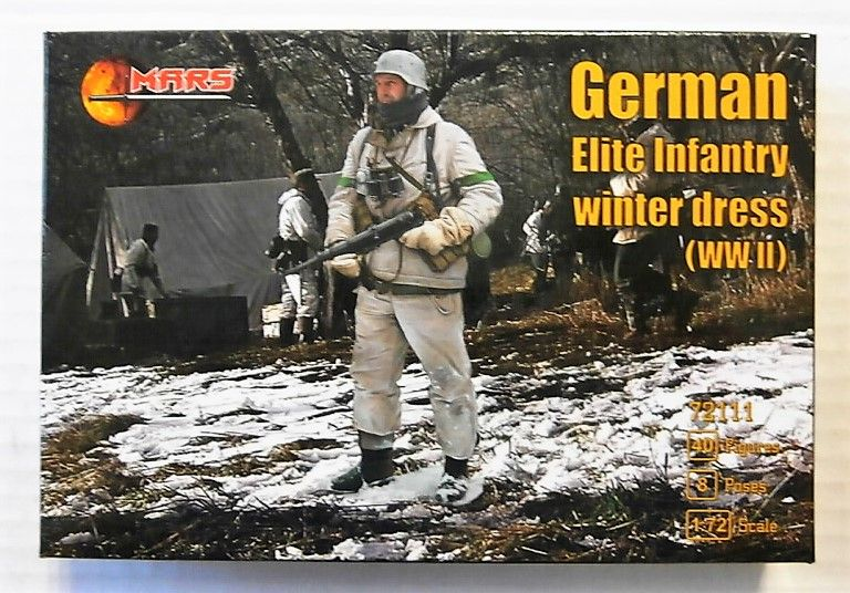 72111 GERMAN ELITE INFANTRY WINTER DRESS WWII