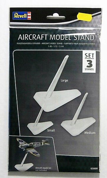 03800 AIRCRAFT MODEL STAND SET OF 3