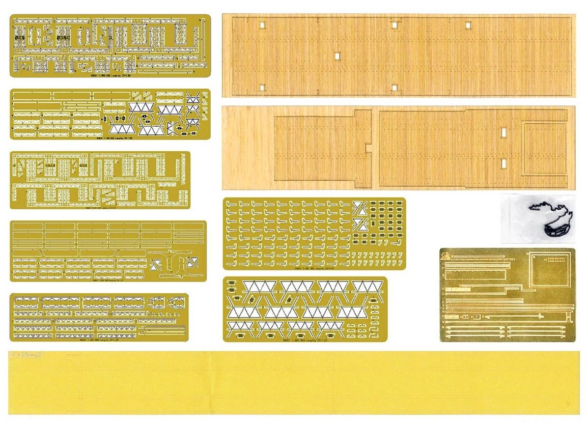 06646 USS LANGLEY CV-1 UPGRADE SETS
