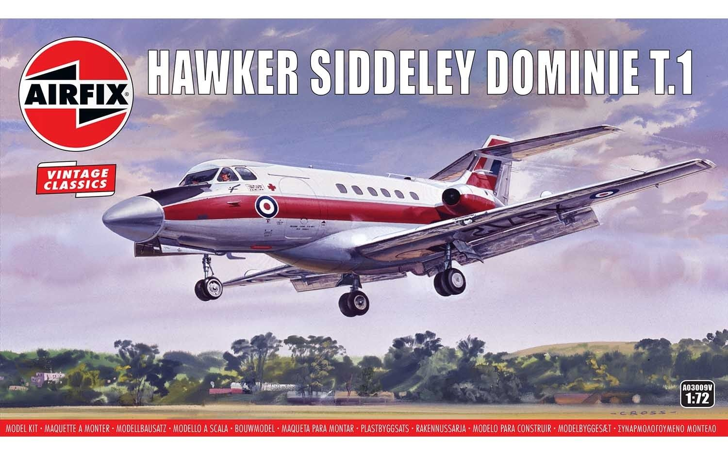 03009V HAWKER SIDDELEY DOMINIE T.1