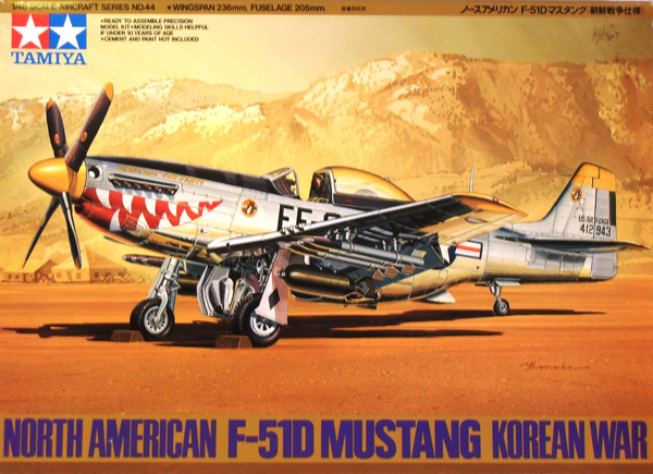 61044 NORTH AMERICAN F-51D MUSTANG KOREAN WAR