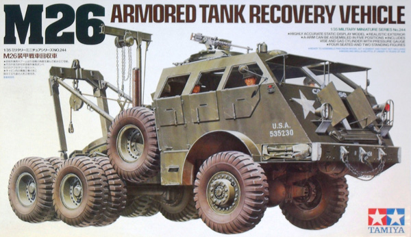 35244 M26 ARMOURED TANK RECOVERY VEHICLE