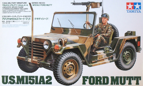 35123 M151A2 FORD MUTT